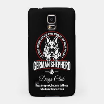 Thumbnail image of German Shepherd Can Speak. Samsung Case, Live Heroes