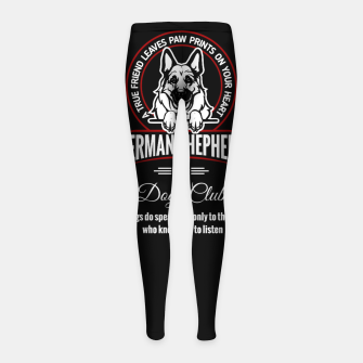 Miniaturka German Shepherd Can Speak. Girl's leggings, Live Heroes