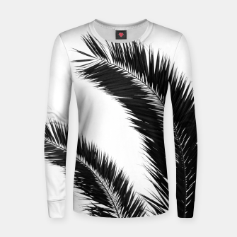 Miniaturka Bohemian Palms Jungle #1 #tropical #decor #art  Frauen sweatshirt, Live Heroes