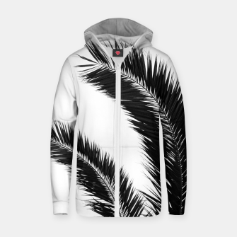 Miniaturka Bohemian Palms Jungle #1 #tropical #decor #art  Reißverschluss kapuzenpullover, Live Heroes
