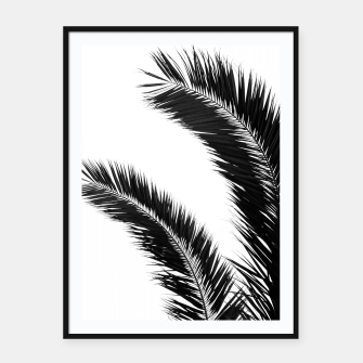 Miniaturka Bohemian Palms Jungle #1 #tropical #decor #art  Plakat mit rahmen, Live Heroes