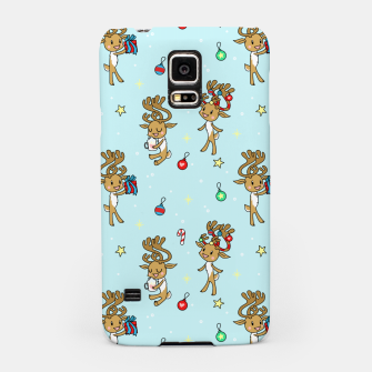 Thumbnail image of Reindeers and Ornaments - yule Samsung Case, Live Heroes