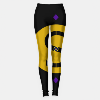 Thumbnail image of Arami Sheik's Golden Iconic Legging Designs.  , Live Heroes
