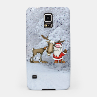 Thumbnail image of Santa and Reindeer Samsung Case, Live Heroes