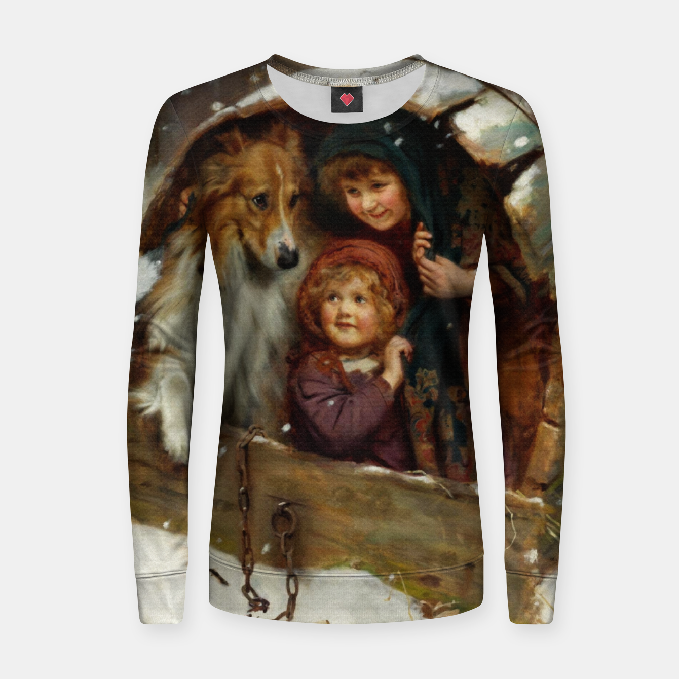 Image of Weather-bound by Arthur John Elsley Women sweater - Live Heroes