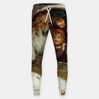 Weather-bound by Arthur John Elsley Sweatpants thumbnail image