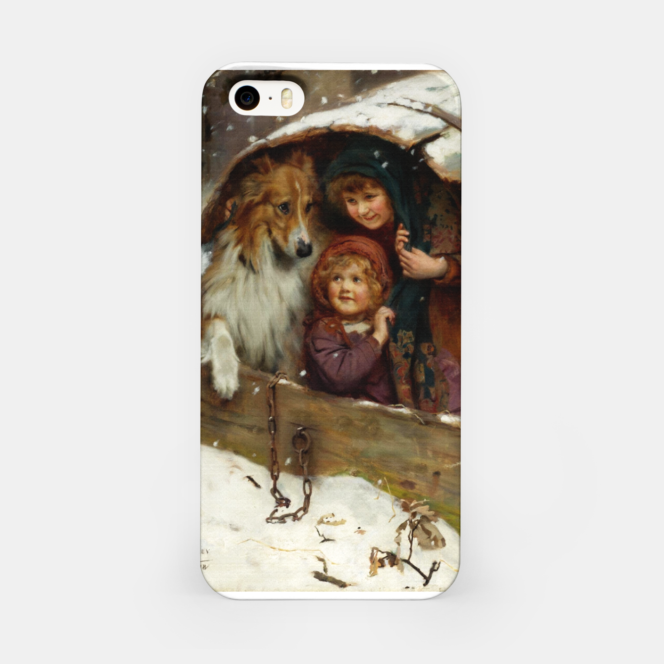Image of Weather-bound by Arthur John Elsley iPhone Case - Live Heroes