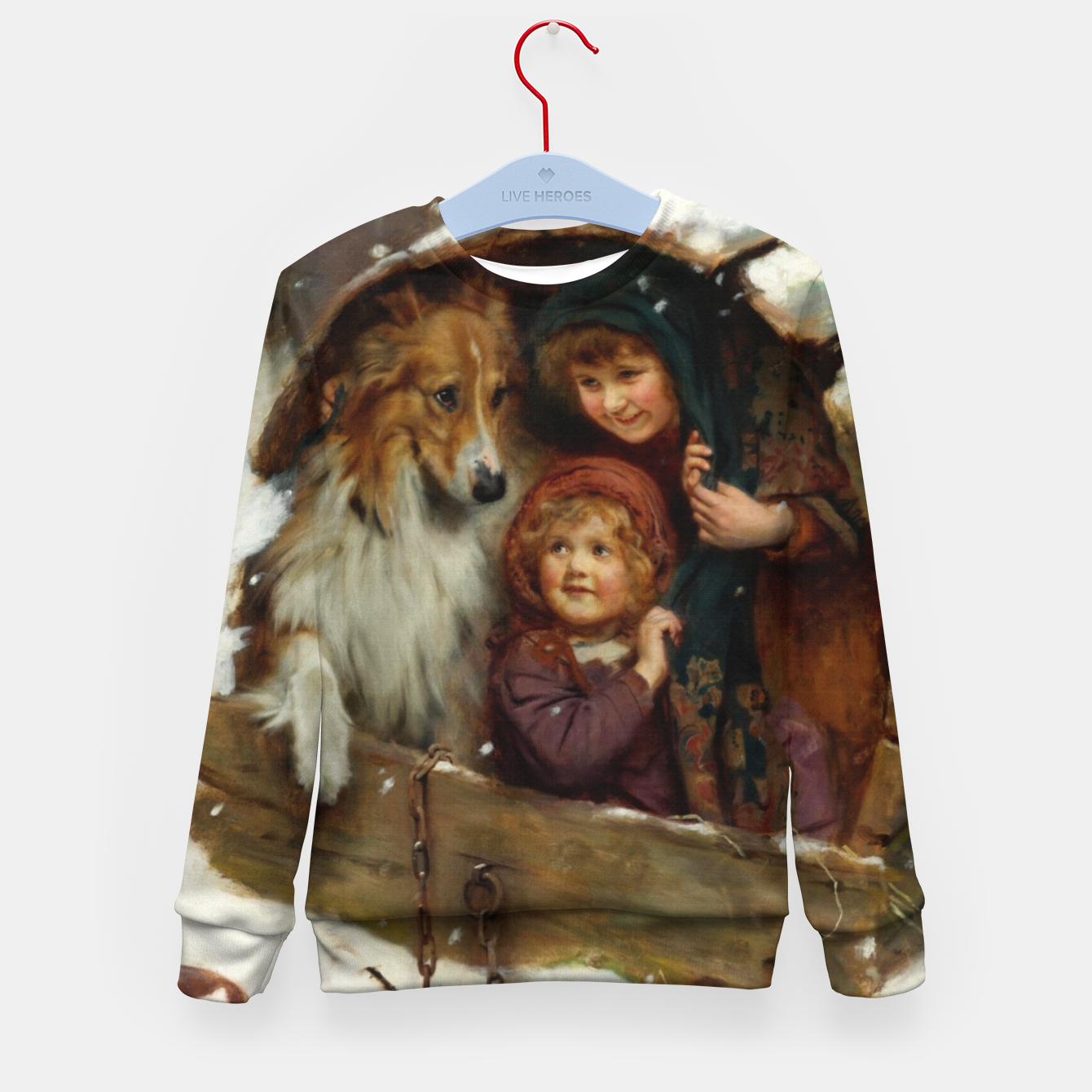 Image of Weather-bound by Arthur John Elsley Kid's sweater - Live Heroes