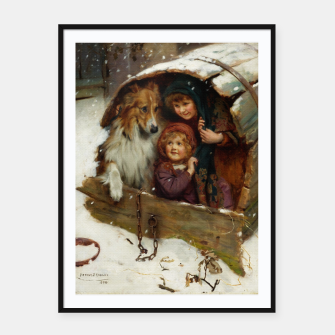 Miniaturka Weather-bound by Arthur John Elsley Framed poster, Live Heroes