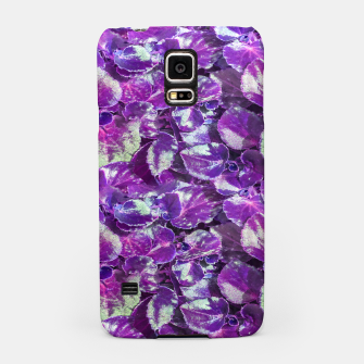 Thumbnail image of Botanical Motif Pattern Design Samsung Case, Live Heroes