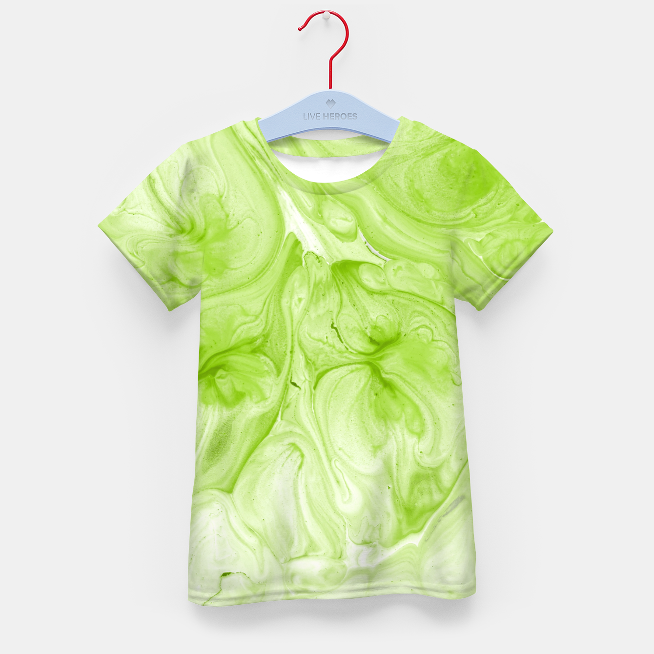 Image of Lime Juice Kid's t-shirt - Live Heroes