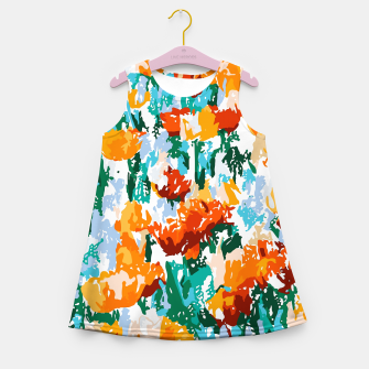 Miniature de image de Isadora Girl's summer dress, Live Heroes