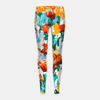 Thumbnail image of Isadora Girl's leggings, Live Heroes