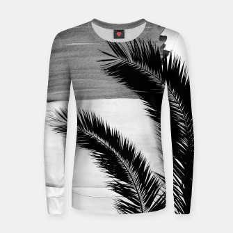 Miniaturka Palms Abstract - Naturelle #2 #minimal #wall #decor #art Frauen sweatshirt, Live Heroes
