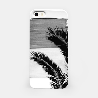 Miniaturka Palms Abstract - Naturelle #2 #minimal #wall #decor #art iPhone-Hülle, Live Heroes