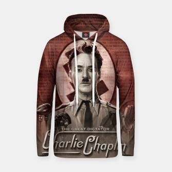 Charlie Chaplin - Great Dictator Hoodie thumbnail image