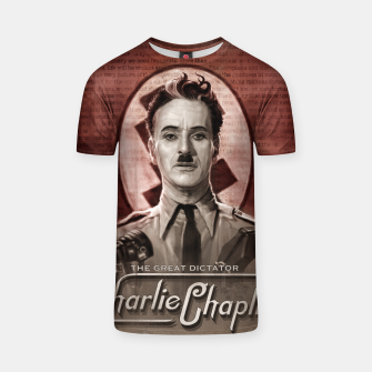 Thumbnail image of Charlie Chaplin - Great Dictator T-shirt, Live Heroes