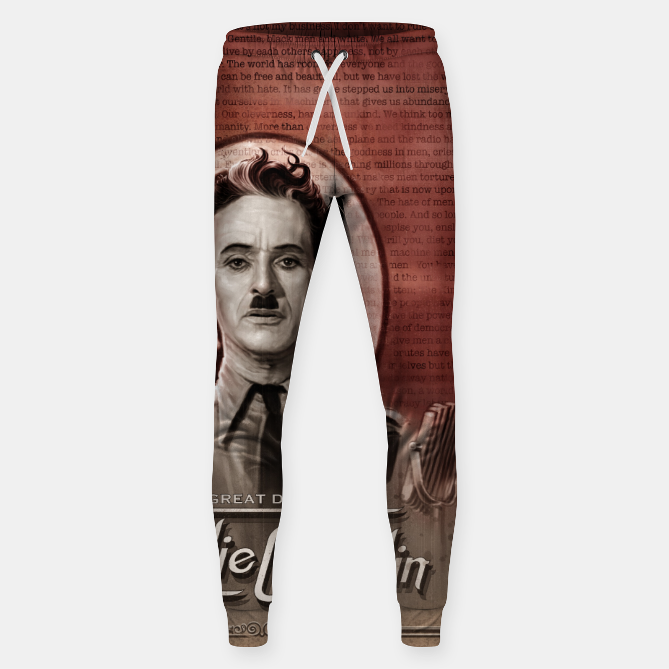 Image of Charlie Chaplin - Great Dictator Sweatpants - Live Heroes