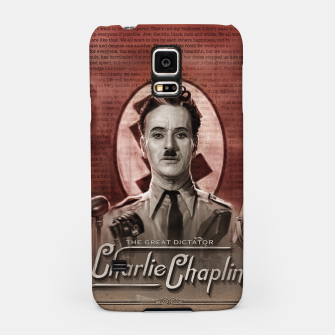 Thumbnail image of Charlie Chaplin - Great Dictator Samsung Case, Live Heroes
