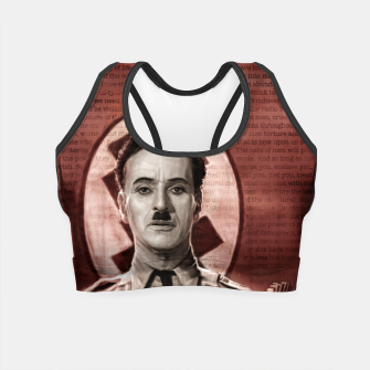 Thumbnail image of Charlie Chaplin - Great Dictator Crop Top, Live Heroes