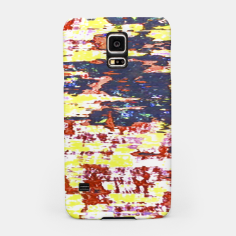 Multicolored Abstract Grunge Texture Print Samsung Case obraz miniatury