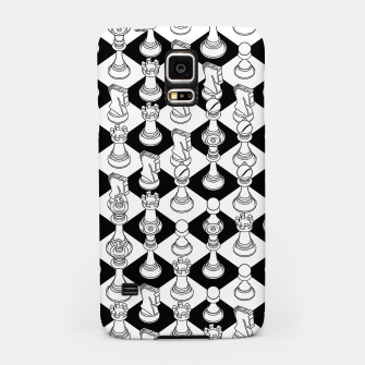 Miniatur Isometric Chess WHITE Samsung Case, Live Heroes