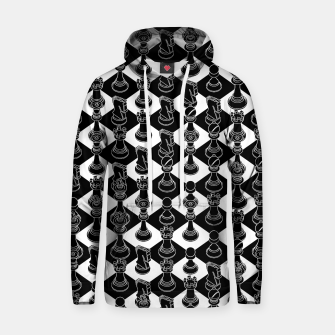 Thumbnail image of Isometric Chess BLACK Hoodie, Live Heroes
