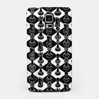 Isometric Chess BLACK Samsung Case Bild der Miniatur