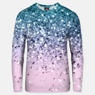 Unicorn Princess Glitter #2 (Photography) #pastel #decor #art  Unisex sweatshirt obraz miniatury