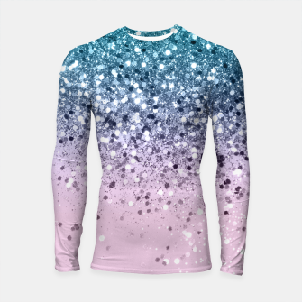 Unicorn Princess Glitter #2 (Photography) #pastel #decor #art  Longsleeve rashguard obraz miniatury