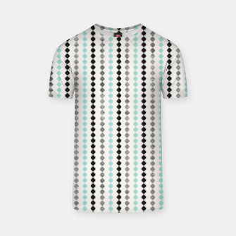 Tribal Boho Pattern Minimal #1 #aztec #decor #art T-Shirt Bild der Miniatur