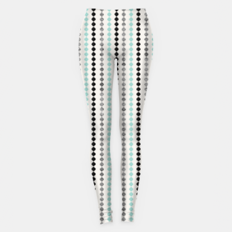 Tribal Boho Pattern Minimal #1 #aztec #decor #art Leggings Bild der Miniatur