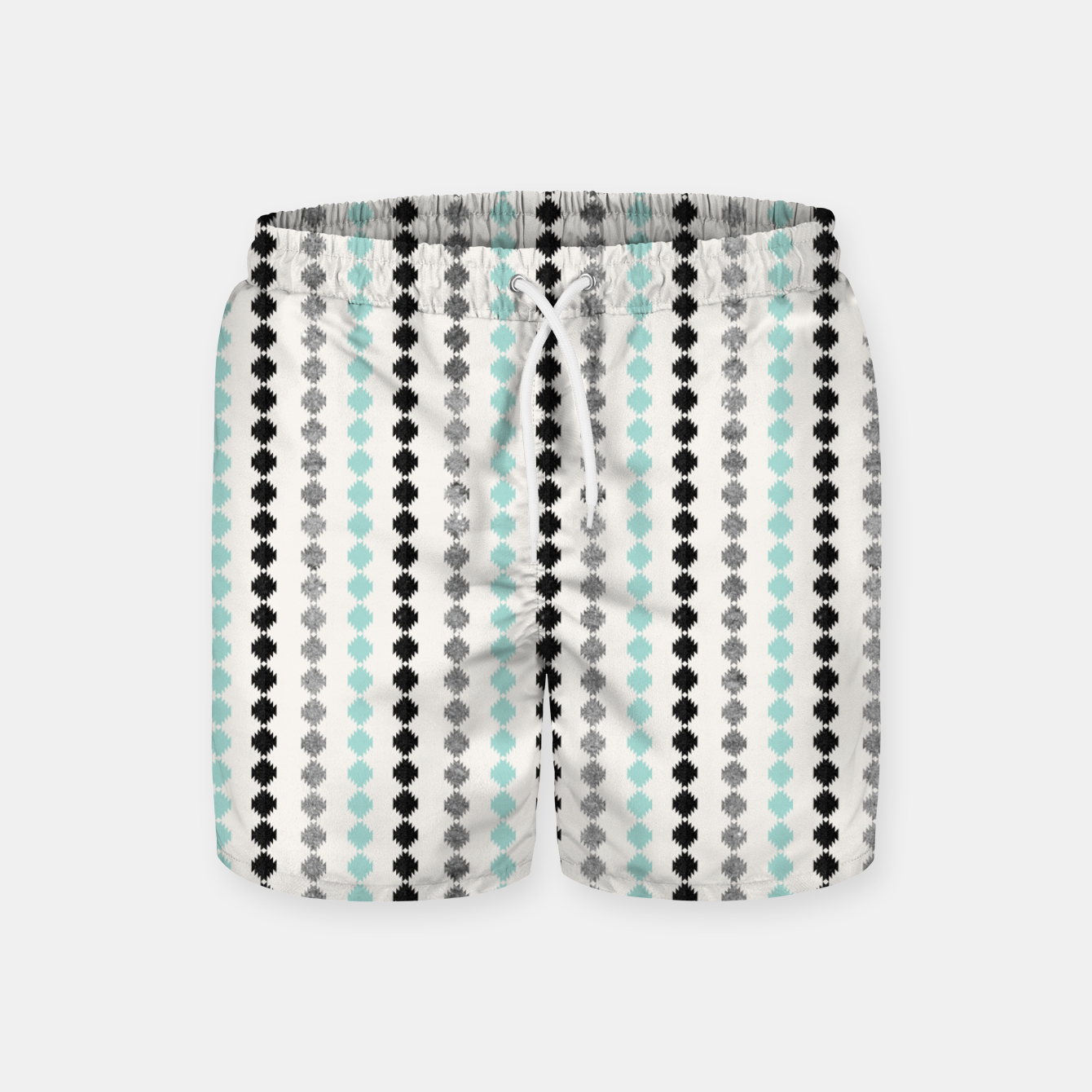 Image of Tribal Boho Pattern Minimal #1 #aztec #decor #art Badeshorts - Live Heroes