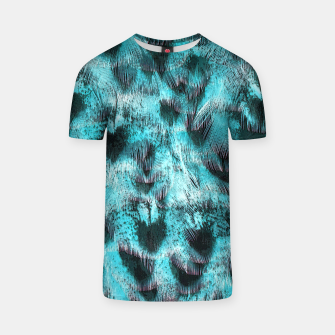 Thumbnail image of Blue plumage T-Shirt, Live Heroes