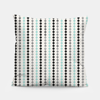 Tribal Boho Pattern Minimal #1 #aztec #decor #art Kissen Bild der Miniatur