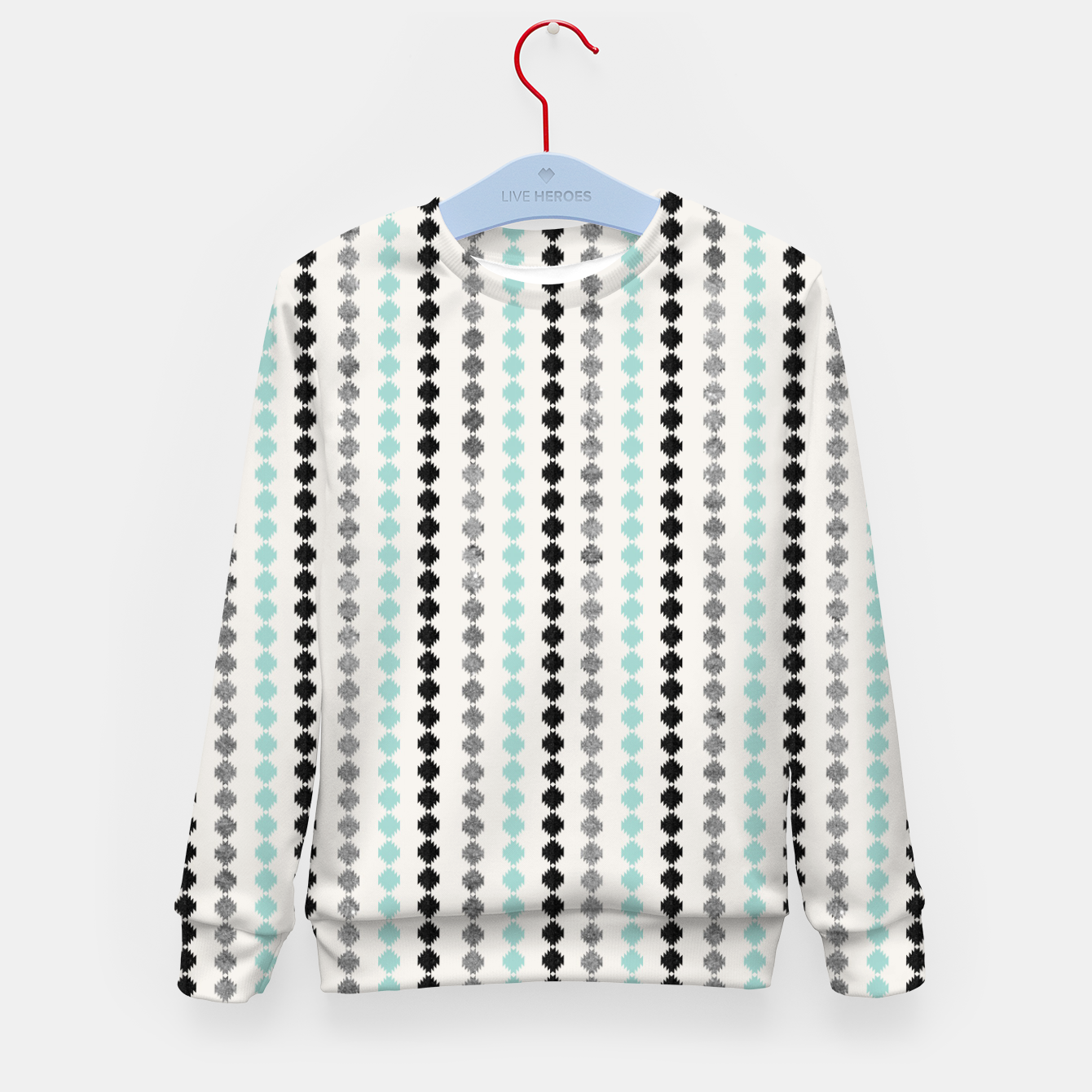 Image of Tribal Boho Pattern Minimal #1 #aztec #decor #art Kindersweatshirt - Live Heroes