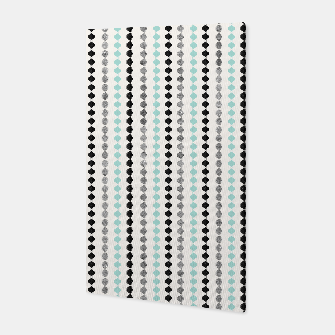Image of Tribal Boho Pattern Minimal #1 #aztec #decor #art Canvas - Live Heroes