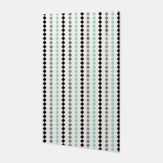 Tribal Boho Pattern Minimal #1 #aztec #decor #art Canvas thumbnail image