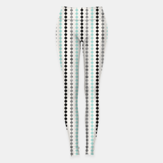 Tribal Boho Pattern Minimal #1 #aztec #decor #art Leggings thumbnail image