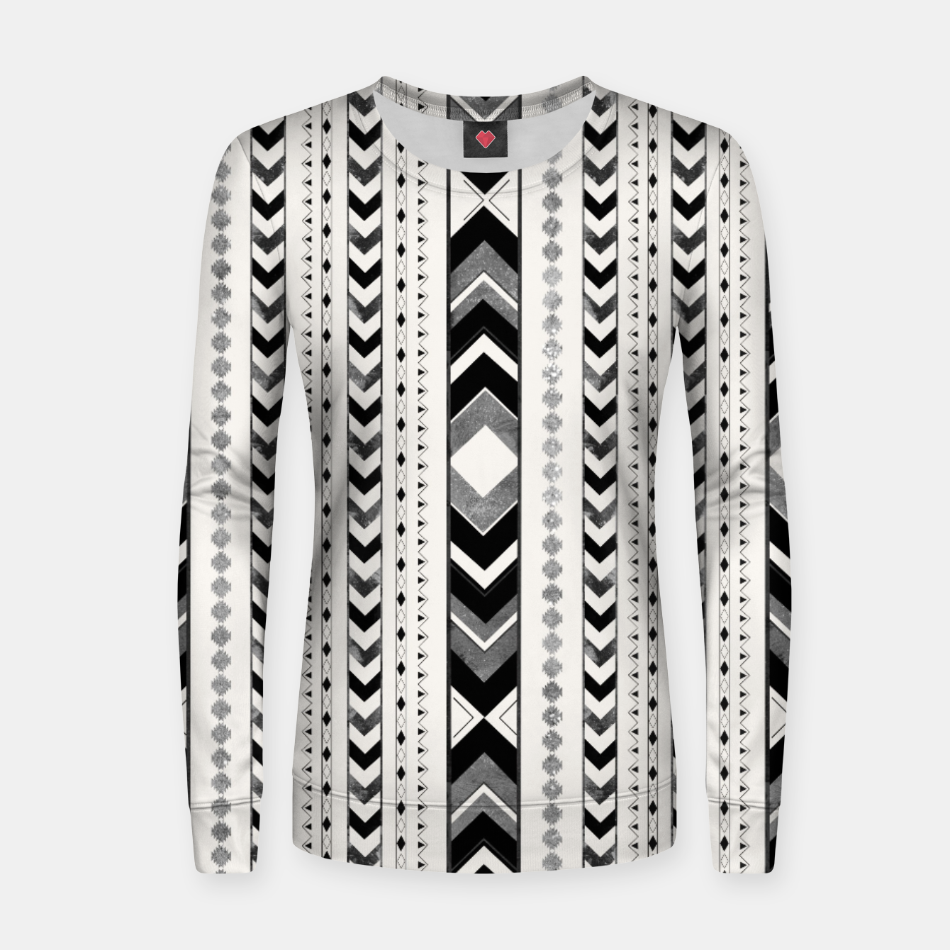 Image of Tribal Arrow Boho Pattern #5 #aztec #decor #art Frauen sweatshirt - Live Heroes