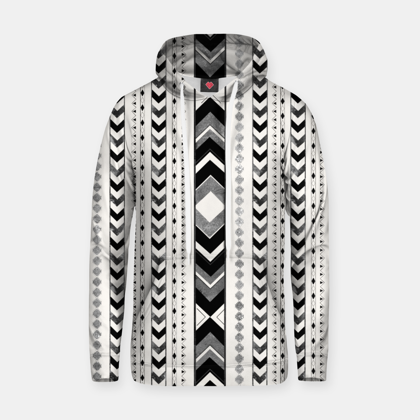 Image of Tribal Arrow Boho Pattern #5 #aztec #decor #art Kapuzenpullover - Live Heroes