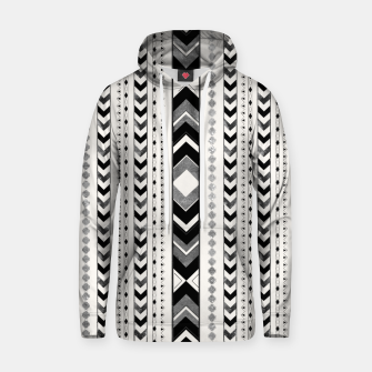 Tribal Arrow Boho Pattern #5 #aztec #decor #art Kapuzenpullover thumbnail image