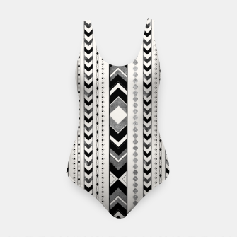 Tribal Arrow Boho Pattern #5 #aztec #decor #art Badeanzug thumbnail image