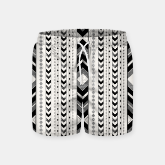 Miniaturka Tribal Arrow Boho Pattern #5 #aztec #decor #art Badeshorts, Live Heroes