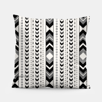 Tribal Arrow Boho Pattern #5 #aztec #decor #art Kissen miniature