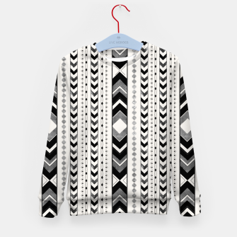 Tribal Arrow Boho Pattern #5 #aztec #decor #art Kindersweatshirt thumbnail image