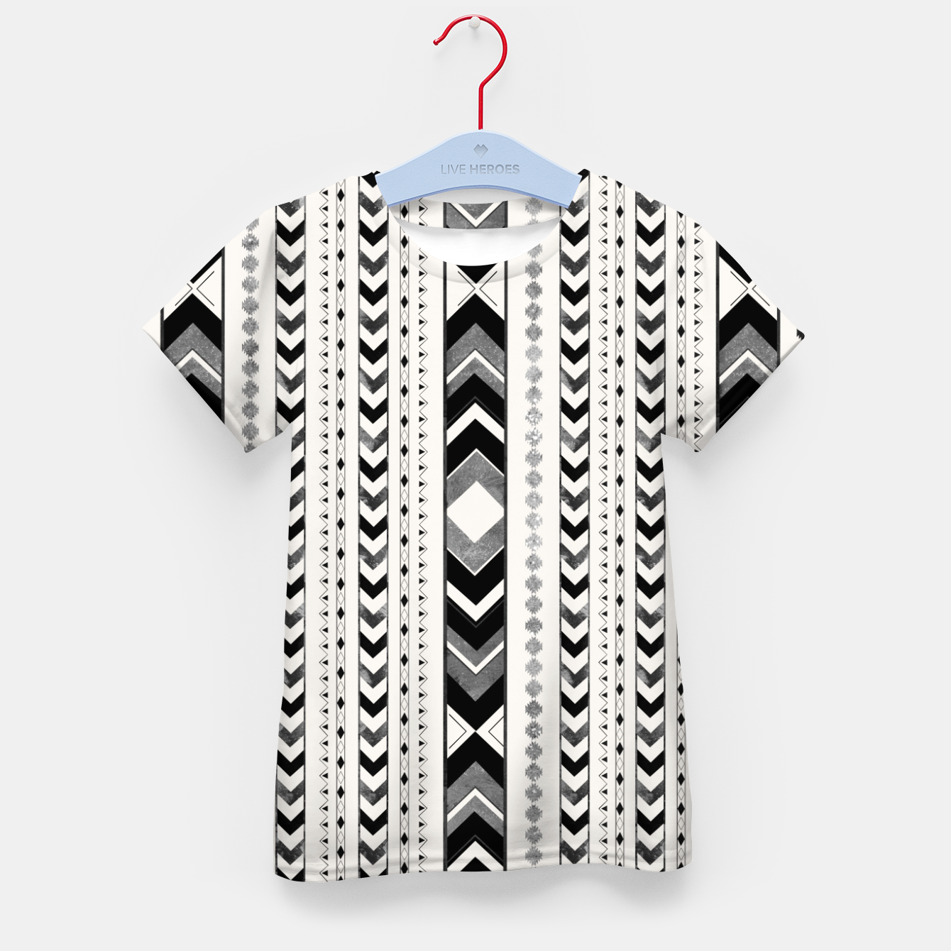 Image of Tribal Arrow Boho Pattern #5 #aztec #decor #art T-Shirt für kinder - Live Heroes