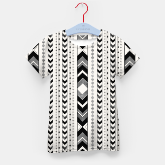 Tribal Arrow Boho Pattern #5 #aztec #decor #art T-Shirt für kinder miniature
