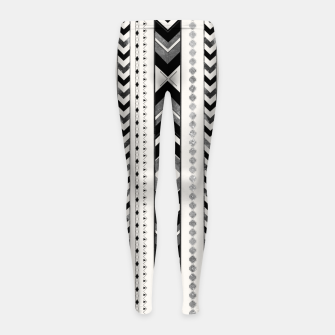 Miniaturka Tribal Arrow Boho Pattern #5 #aztec #decor #art Kinder-Leggins, Live Heroes