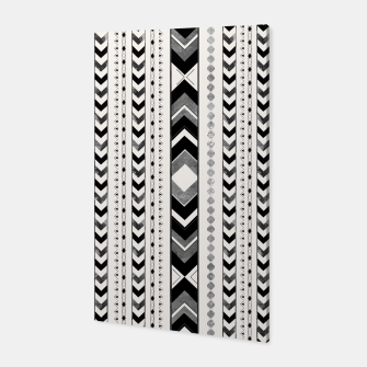Tribal Arrow Boho Pattern #5 #aztec #decor #art Canvas thumbnail image
